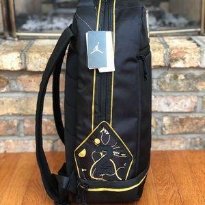 9aa34ce0f83 Nike Bags   Jordan Asahd X Jumpman Blackgold Backpack   Poshmark
